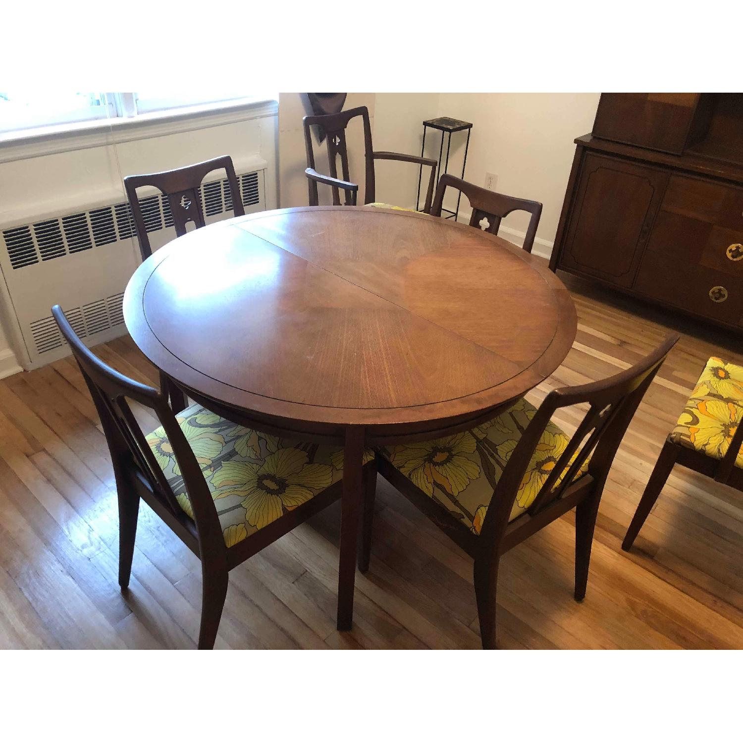 Drexel Mid Century S Extendable Dining Table W AptDeco - Extendable dining table seats 6
