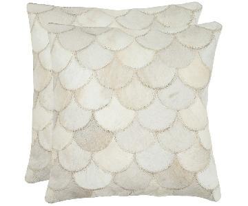 Safavieh Elita Cowhide Pillows
