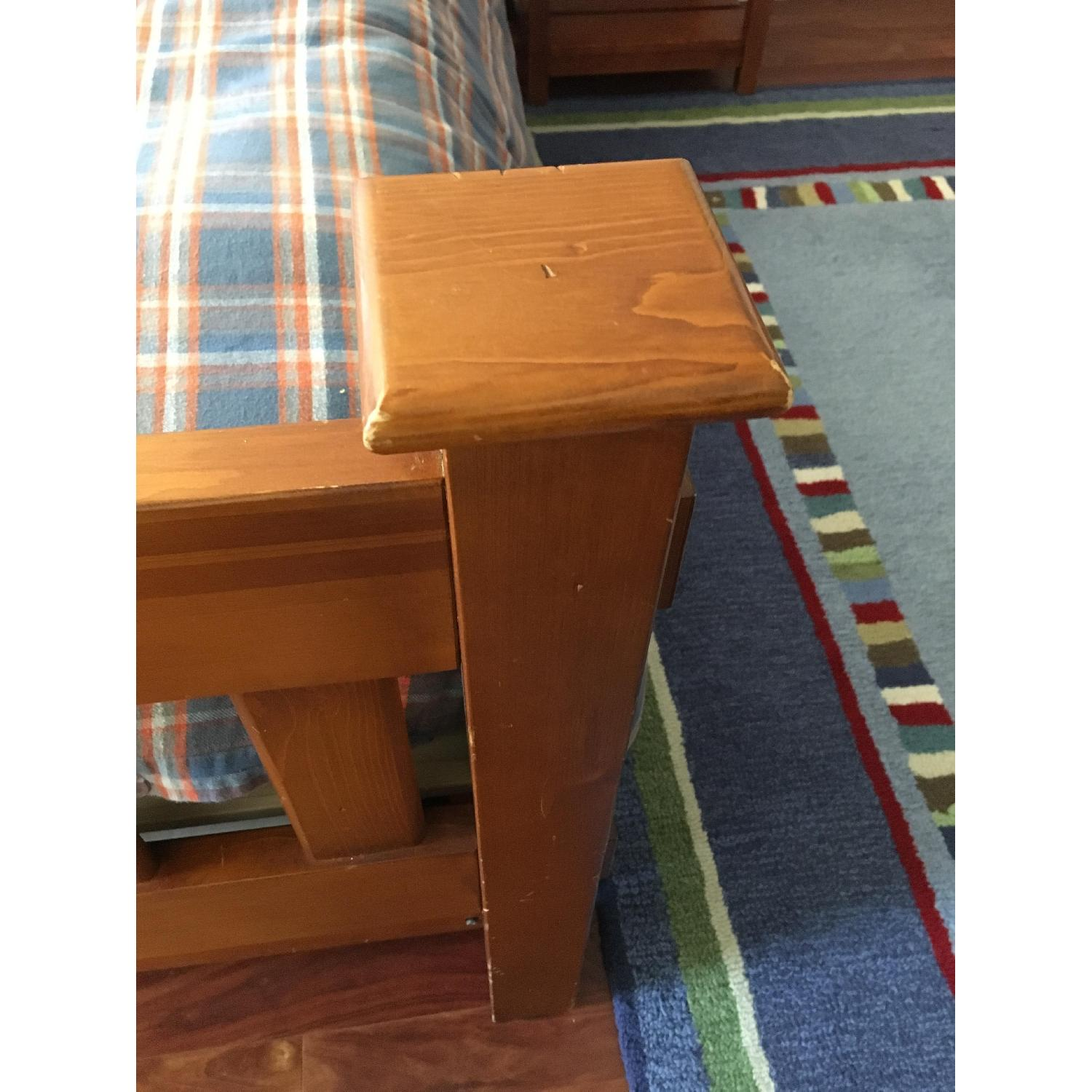 Pottery Barn Kendall Twin Bed w/ Trundle - image-7