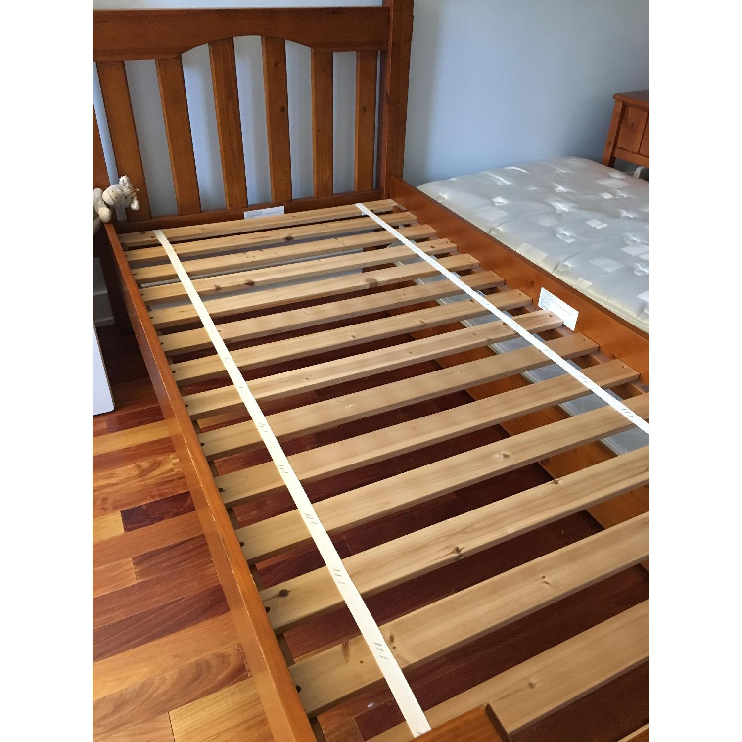 Pottery Barn Kendall Twin Bed w/ Trundle - image-8