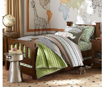 Pottery Barn Kendall Twin Bed w/ Trundle
