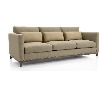 Crate & Barrel Taraval 3 Seater Sofa