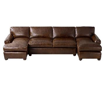 Restoration Hardware Lancaster U-Chaise Sectional Sofa