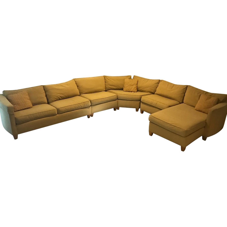 Ethan Allen Horizon 4 Piece Sectional Sofa ...