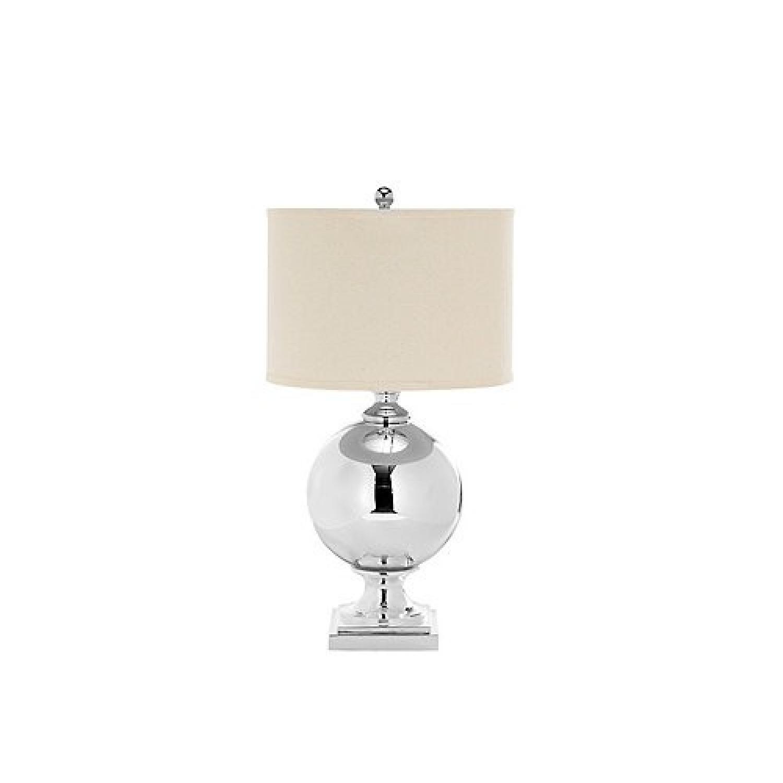 Raymour Flanigan Alcott Mercury Glass Table Lamp Aptdeco