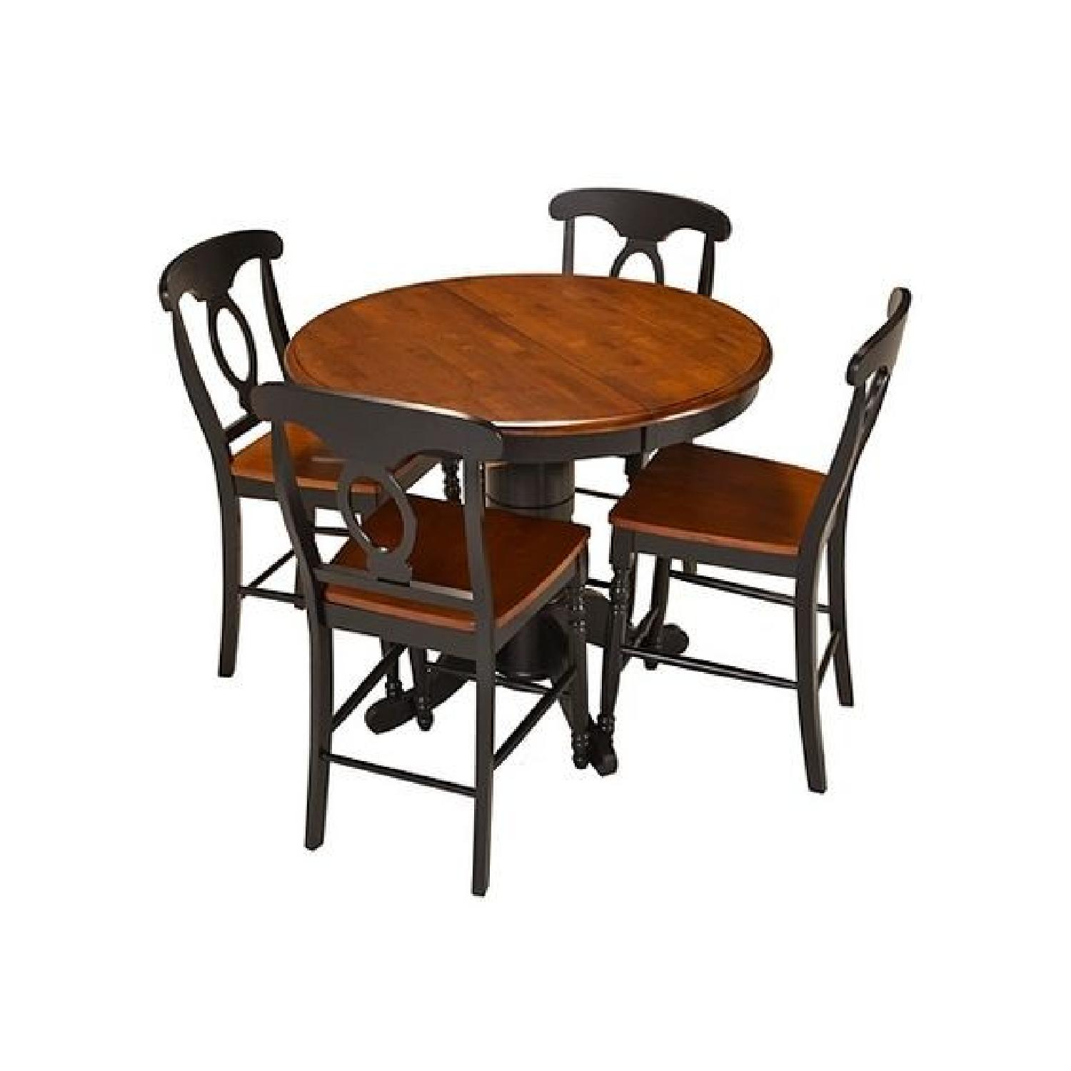 Raymour U0026 Flanigan Kenton 5 Piece Counter Height Dining Set ...