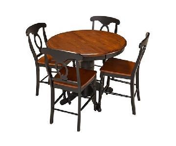 Raymour & Flanigan Kenton 5-Piece Counter-Height Dining Set