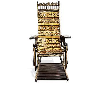 House of Havana Malian Traditional Malenka Reclining Chair