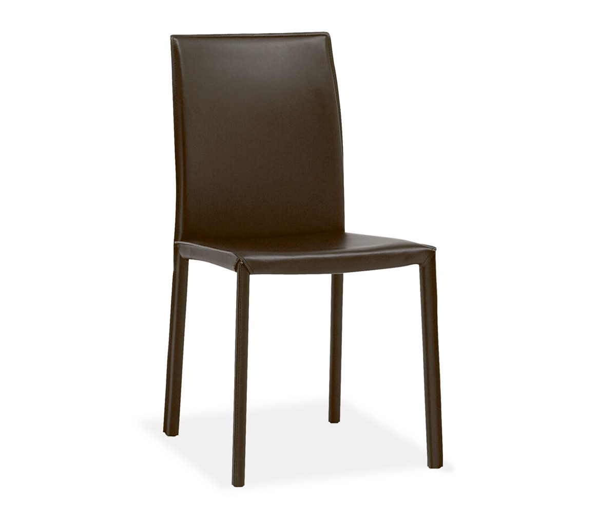 BoConcept Zarra Brown Leather Dining Chairs