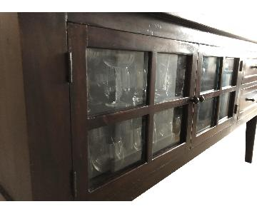 Room & Board Sideboard w/ Glass Doors