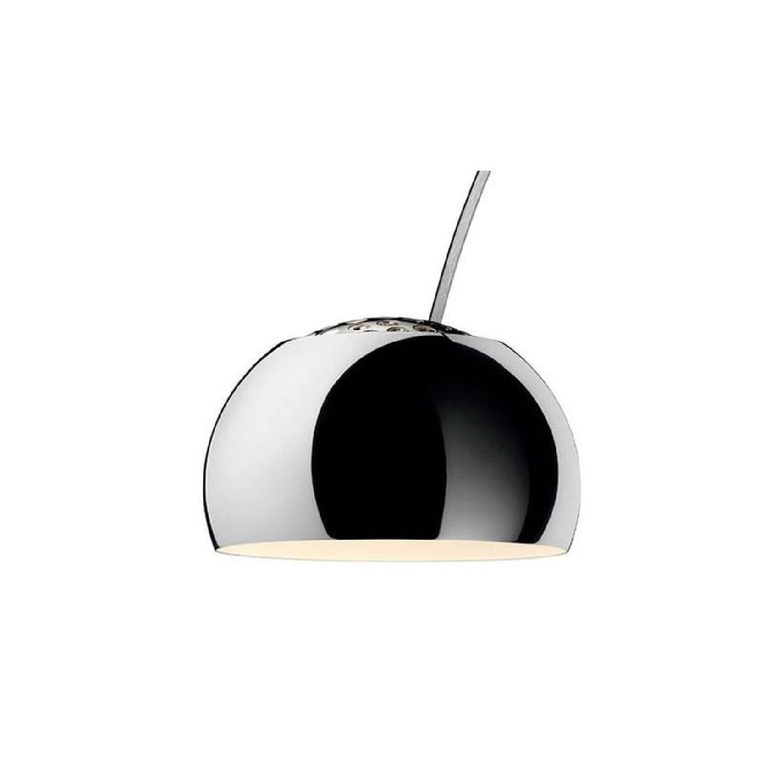 Manhattan Home Design Arco Lamp Replica in Black