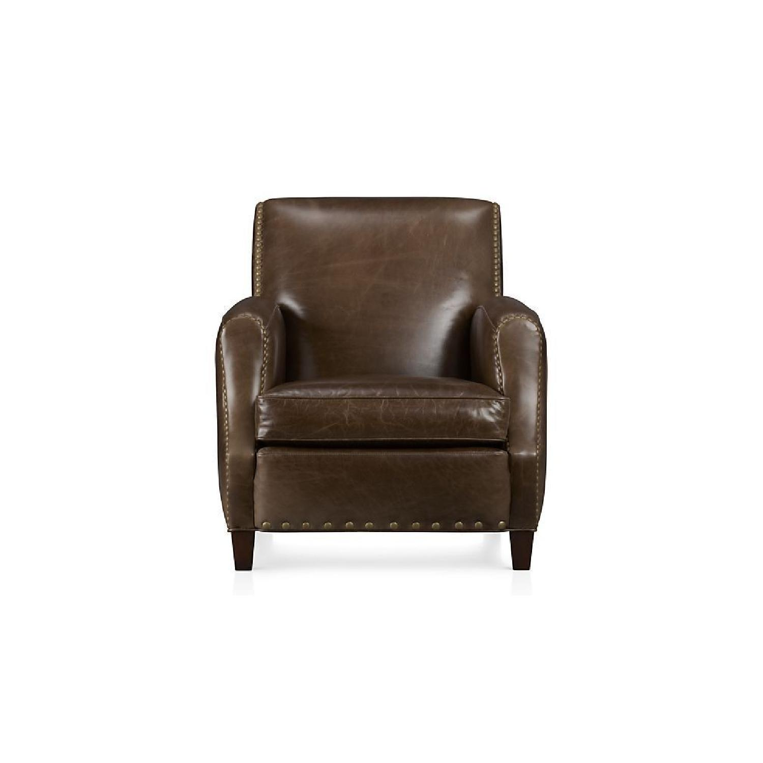 crate barrel metropole leather chair - Crate And Barrel Leather Chair