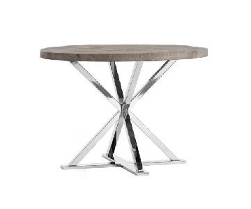 Pottery Barn Reclaimed Wood Dining Table w/ Metal Legs
