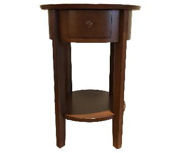 Pottery Barn Round End Table