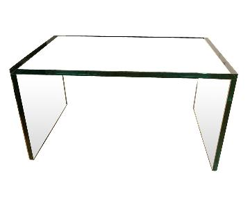 Rectangular Glass Side Table