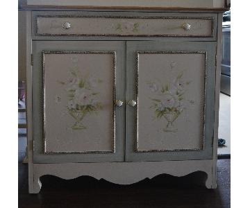 Country French Style Bookcase/Storage Unit