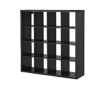 Ikea Black Kallax Shelf Unit