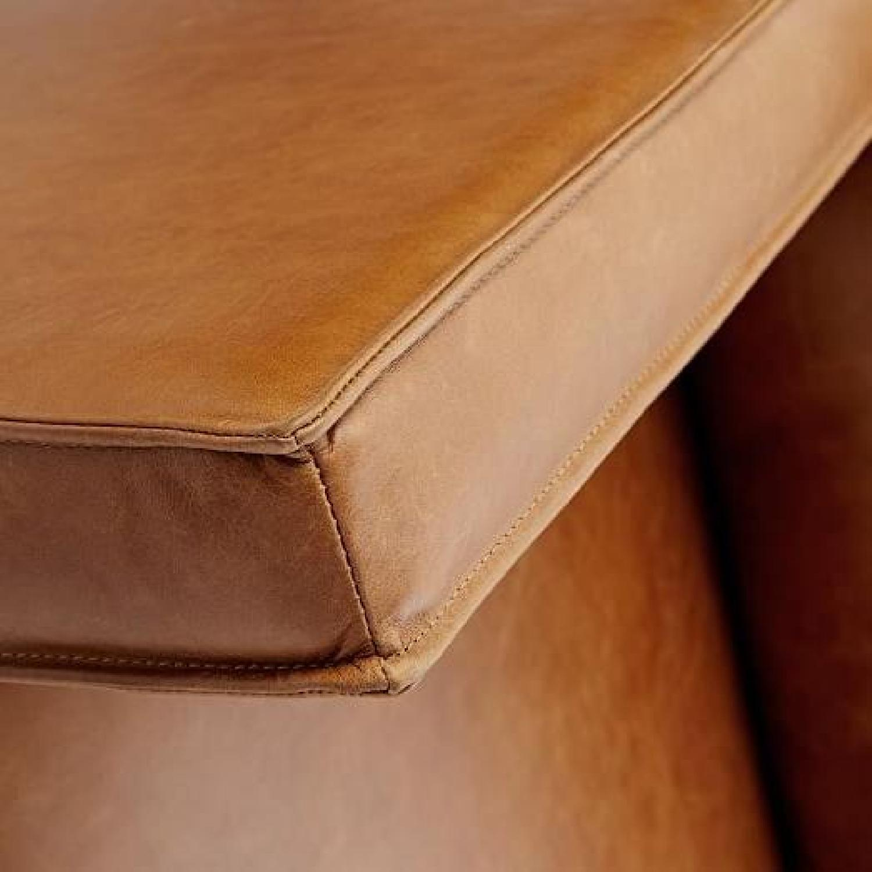 West Elm Axel Leather Sofa - image-4