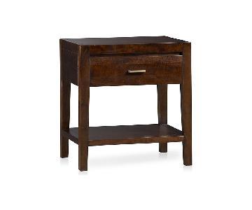 Crate & Barrel Dawson Clove Nightstand