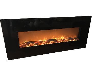 Crate & Barrel Electric Fireplace