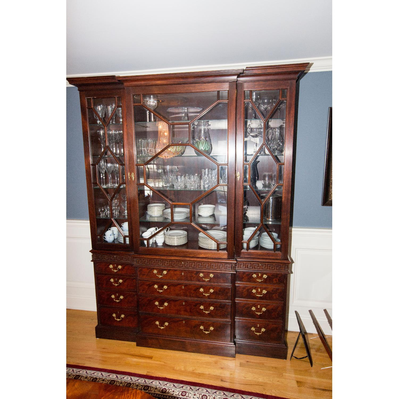 ... Williamsburg Stickley Collection China Cabinet W/ Hutch 0 ...