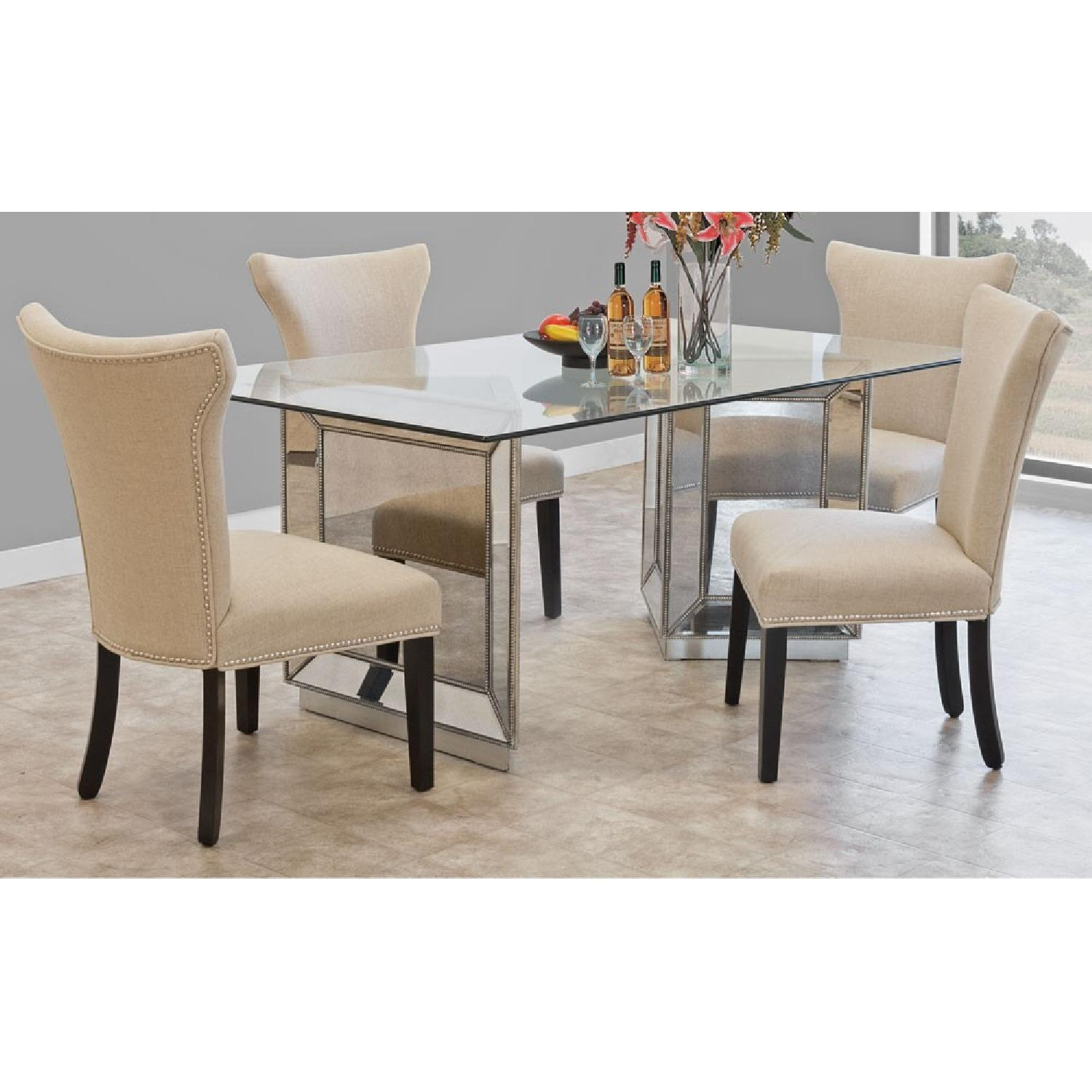 ... Macyu0027s Sophia Mirrored 5 Piece Dining Set 0 ...
