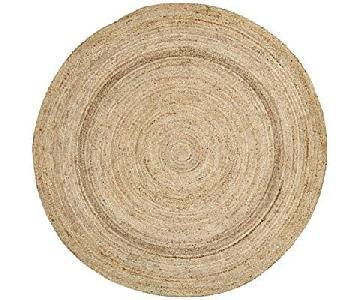 NuLOOM Jute Collection Round Area Rug