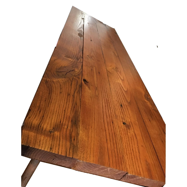 Antique Industrial Loft Rustic Kitchen Island/Table - image-5