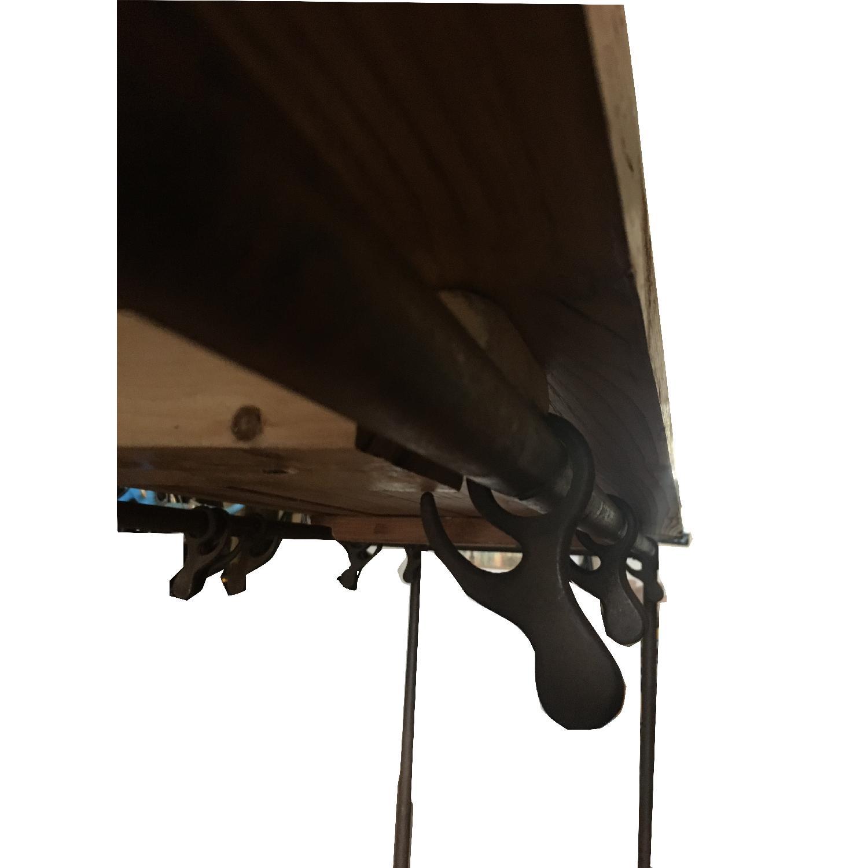 Antique Industrial Loft Rustic Kitchen Island/Table - image-6