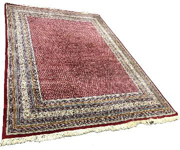 Ruby Red Area Rug