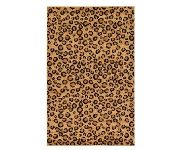 Joss & Main Leopard Print Area Rug