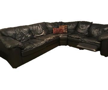 Jennifer Convertible Sleeper Sectional Sofa w/ Recliner