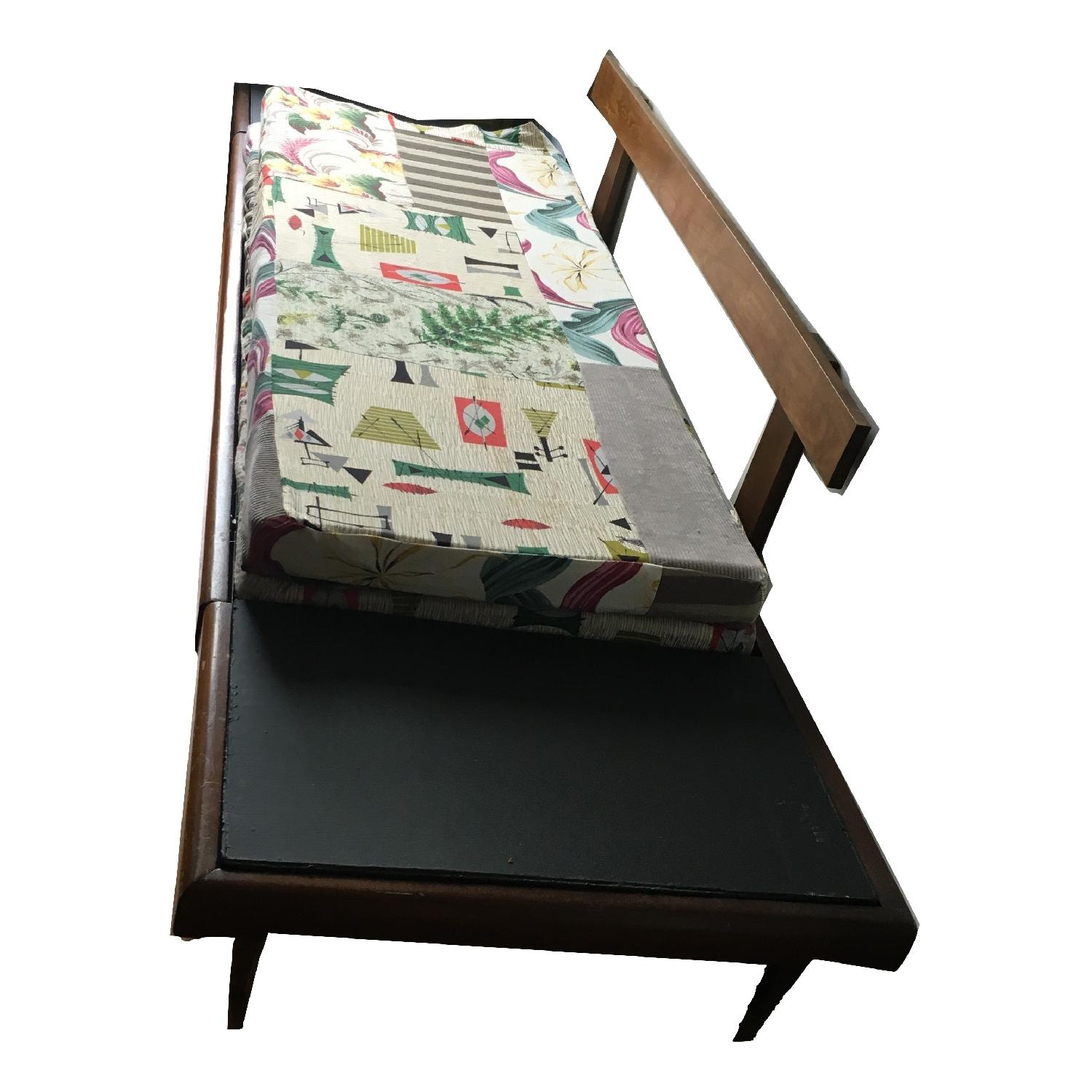 Mid Century Modern 1950's Daybed Pull Out Platform Sofa