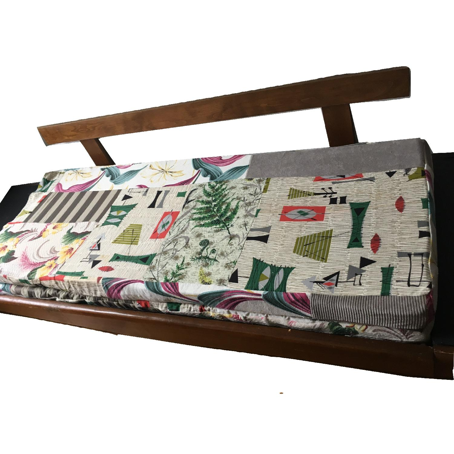 Mid Century Modern 1950's Daybed Pull Out Platform Sofa-2