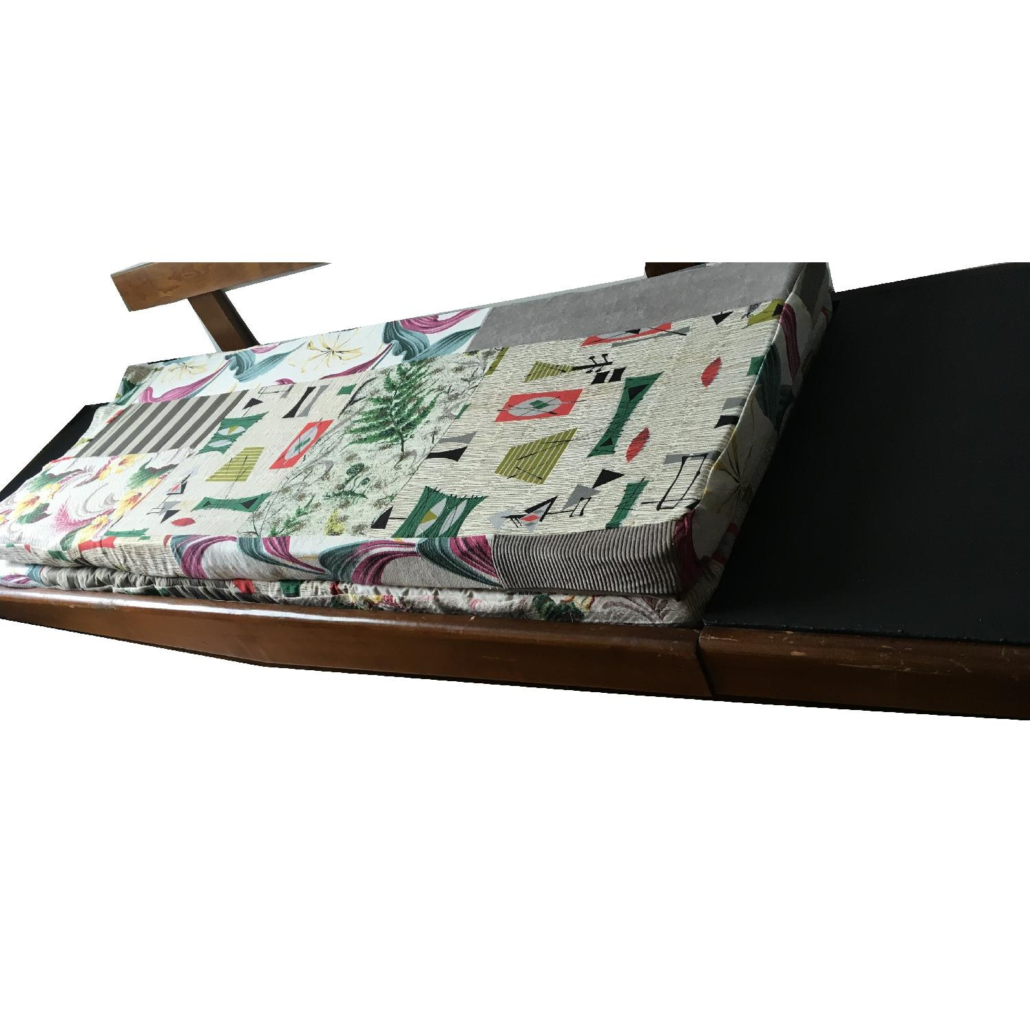 Mid Century Modern 1950's Daybed Pull Out Platform Sofa-4