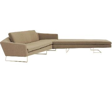 David Weeks Studio Sculpt Custom Sectional Sofa