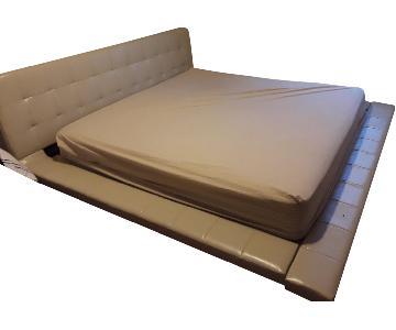 Modloft Modern King Size Bed Frame