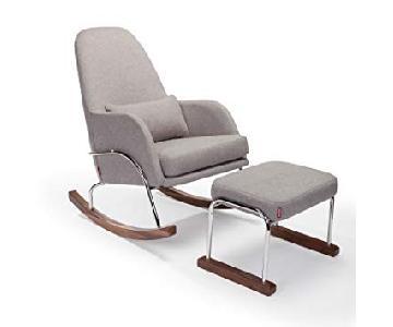 Monte Design Jackson Rocking Chair & Footstool
