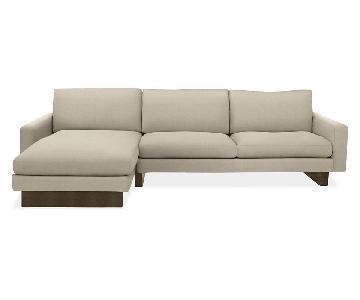 Room & Board Hess 2-Piece Sectional Sofa