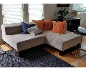 West Elm Tillary 5 Piece Sectional Sofa