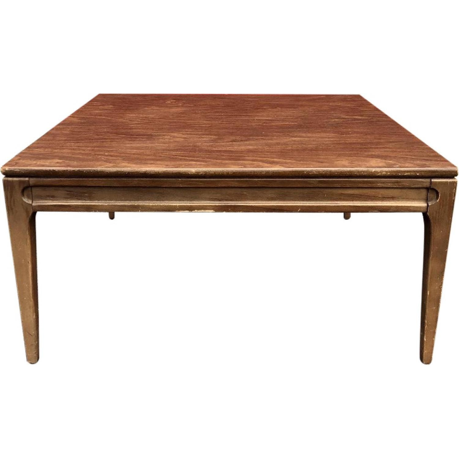 Mersman Mid Century Modern Square Coffee Table