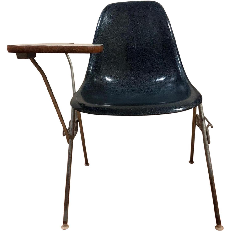 Eames Herman Miller Mid Century Shell Fiberglass Desk Chair ...