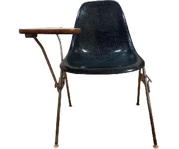 Eames Herman Miller Mid Century Shell Fiberglass Desk Chair