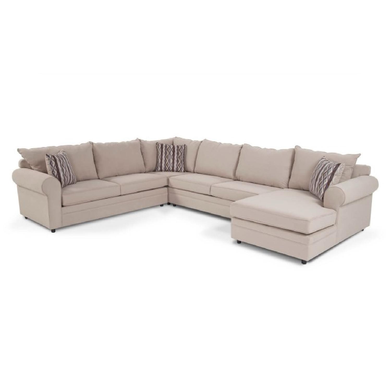 Bobu0027s Venus 4 Piece Full Sleeper Sectional Sofa ...