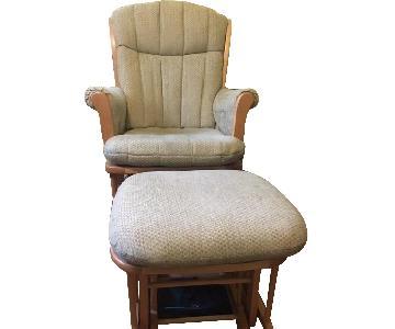Glider Chair & Ottoman