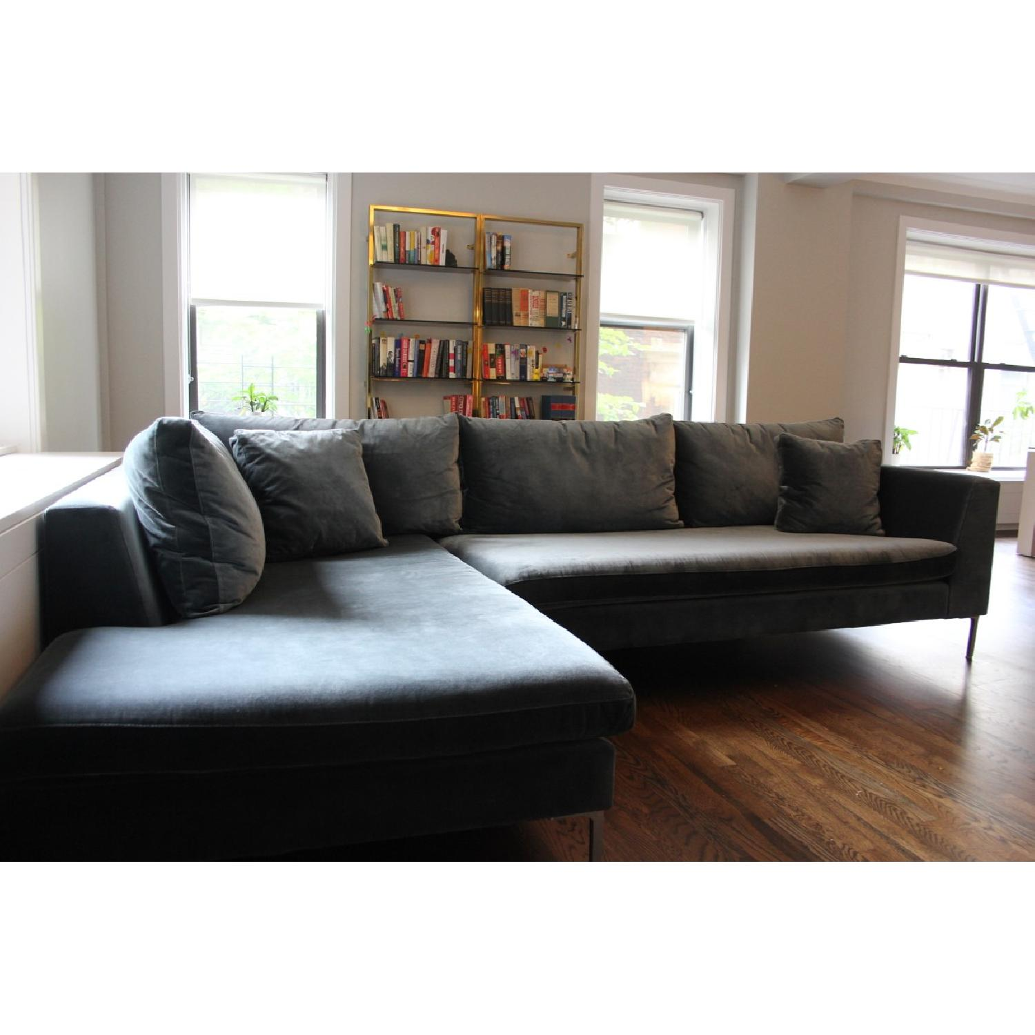 ... ABC Carpet And Home Cobble Hill Sectional Sofa 1 ...