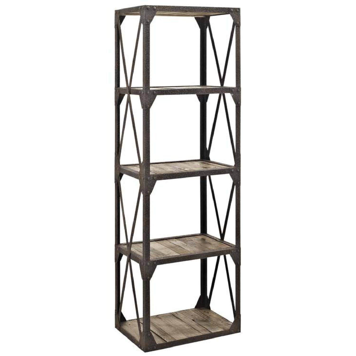 Stave Bookshelf in Brown