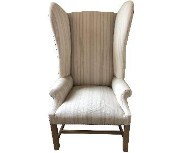 Restoration Hardware Wingback Nailhead Rocker