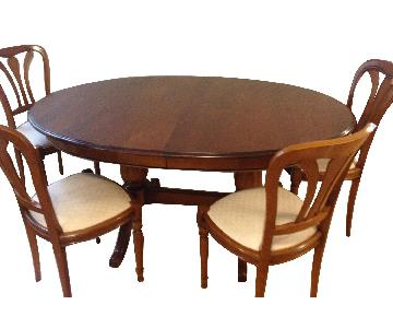 Ernest Menard Dining Table w/ 8 Chairs