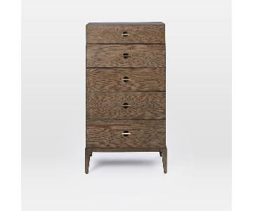 West Elm Danish Mid-Century 5 Drawer Dresser
